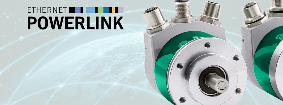 Encoders with Ethernet POWERLINK