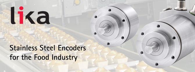 Stainless steel rotary encoders