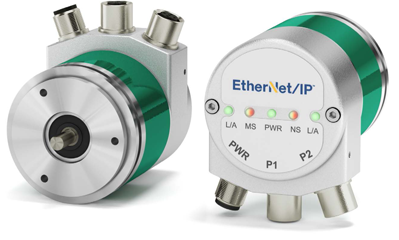 EtherNet/IP Absolute Encoders for Time-Critical & High-Speed Industrial Automation